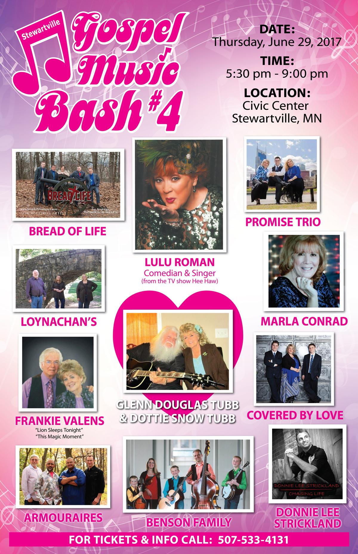 Gospel Bash 4 Poster 2017